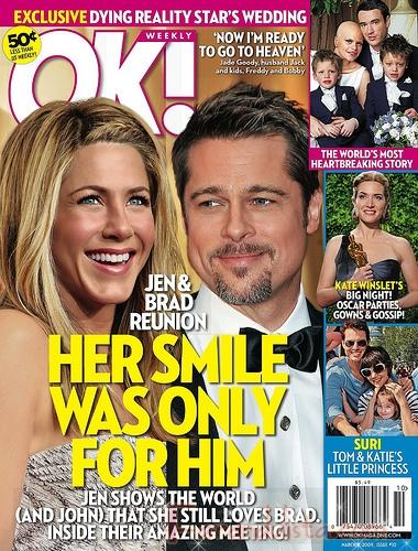 Jennifer Aniston y Brad Pitt se reunen? - OK! Magazine