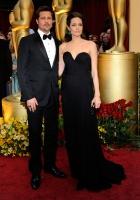 Angelina Jolie y Brad Pitt en los Oscar 2009 - Ganadores