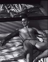 David Beckham sexy para Emporio Armani (Primavera)