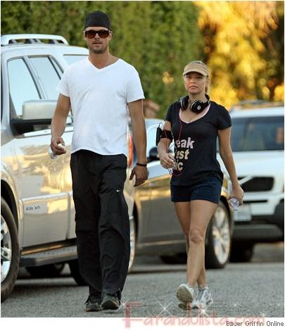 Fergie y Josh queman las calorias de su honeymoon - Links!