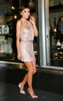 Victoria Beckham en la apertura de la nueva Armani Store N.Y