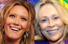 Hilary Duff y Faye Dunaway CATFIGHT!! - Bites & Gossip Links