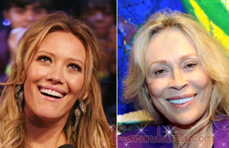 Hilary Duff y Faye Dunaway CATFIGHT!! - Bites & Gossip Links