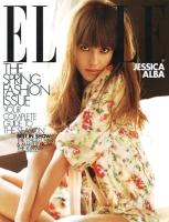 Jessica Alba para Elle magazine