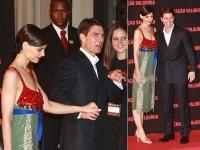 Katie Holmes y Tom Cruise Premier Valkyrie en Brasil