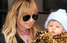 Aww… Nicole Richie y baby Harlow Winter Kate shopping