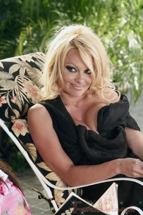 Pamela Anderson cree que ella es arte