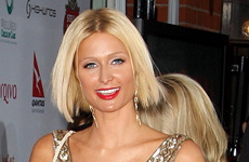 Paris Hilton en la Oscar After Party en Mr Chow