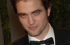 Twilight star Robert Pattinson en la Vanity Fair Oscar Party