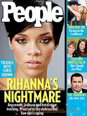 Rihanna y su pesadilla en la portada de People