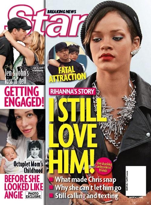 Rihanna todavia ama a Chris Brown? Star magazine