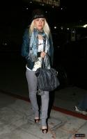 Christina Aguilera y su esposo cenando en Osteria Mozza