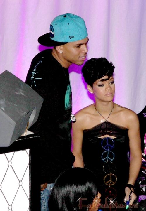 Detalles de la terrible pelea entre Rihanna y Chris Brown
