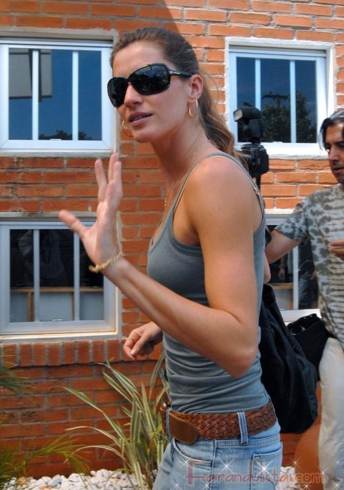 Gisele Bundchen y su esposo Tom Brady en Brasil