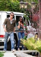 Megan Fox y Brian Austin Green juntos de compras