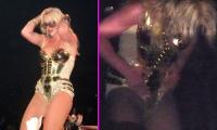 OMG!! Britney descubre que se le ve la entrepierna LOL
