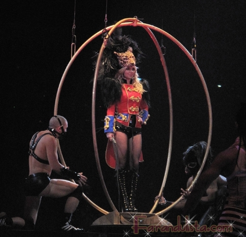 Britney Spears primer concierto Tour Circus New Orleans
