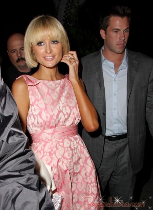 OMG!! Paris Hilton ya presento el novio a sus padres