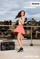 Gossip Girl Leighton Meester como la nueva imagen Reebok