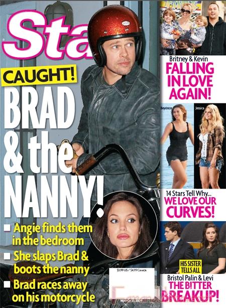 La Portada de la Semana: Angelina pilla a Brad con la nanny