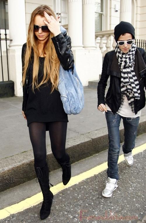 Lindsay Lohan acusa a Samantha Ronson de usar drogas