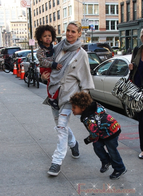 Heidi Klum espera su cuarto hijo