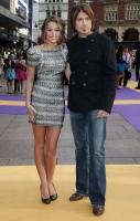 Miley y Demi en la premier de Hannah Montana en Londres