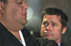 Brad Pitt tiene cara triste