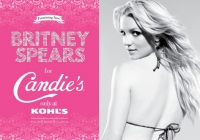 Poster promocional de Britney Spears para Candie's - Video