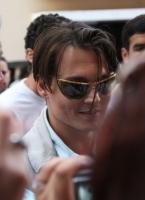 Johnny Depp filmando en Puerto Rico