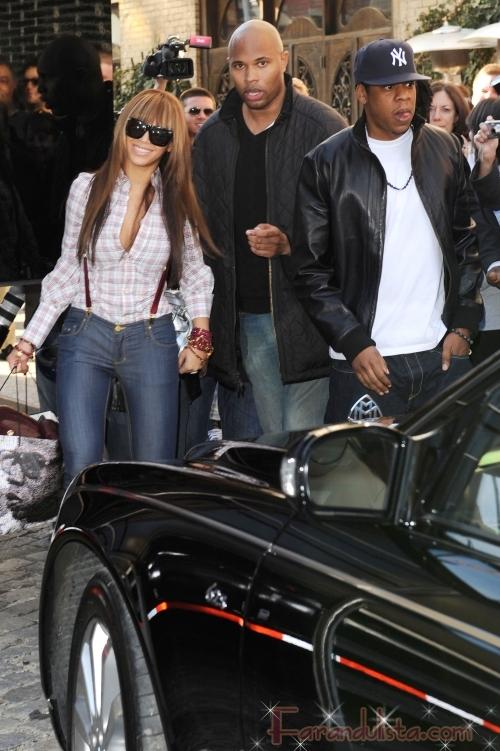 Beyonce y Jay-Z en New York