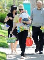 Los Rossdale-Stefani celebraron las Pascuas
