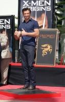 Hugh Jackman inmortalizado en el Grauman's Chinese Theatre