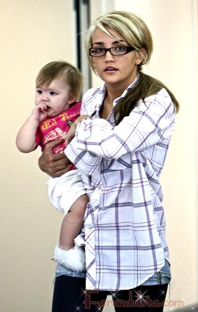 Jamie Lynn Spears y su bebita Maddie Briann ... awww CUTE!!