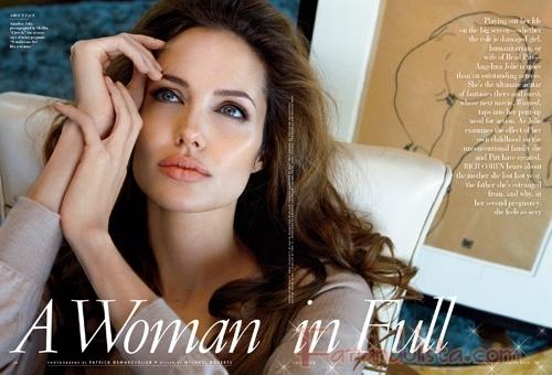 Angelina Jolie es la Mujer mas Hermosa del Mundo [Vanity Fair]