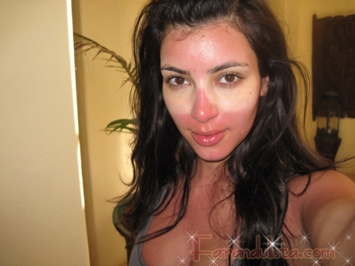 LMAO!! Kim Kardashian parece un mapache - More links!