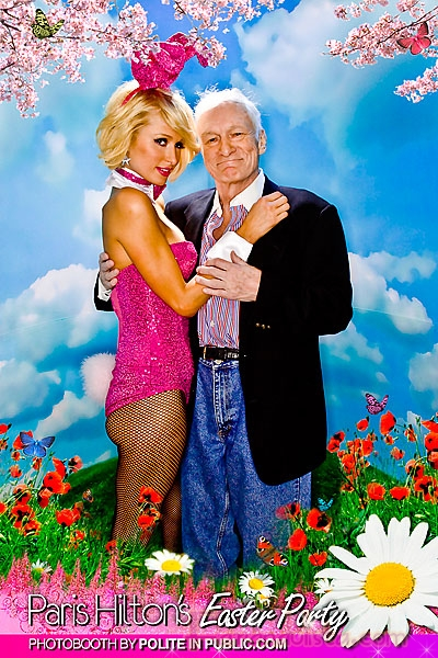 Paris Hilton celebra las Pascuas vestida de Conejita... Gosh!