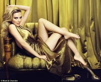 Scarlett Johansson para Moet & Chandon