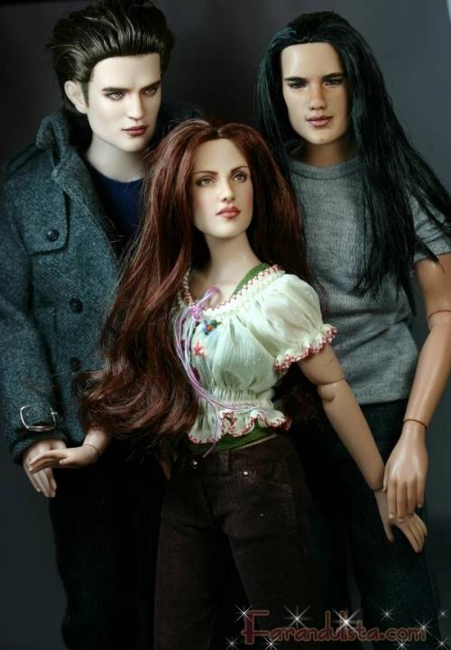 Twilight tiene sus propias figuras...