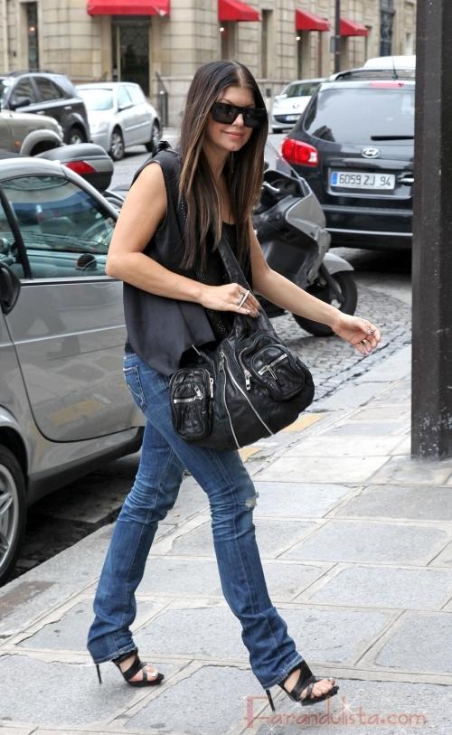 Fergie con Black Eyed Peas en Paris