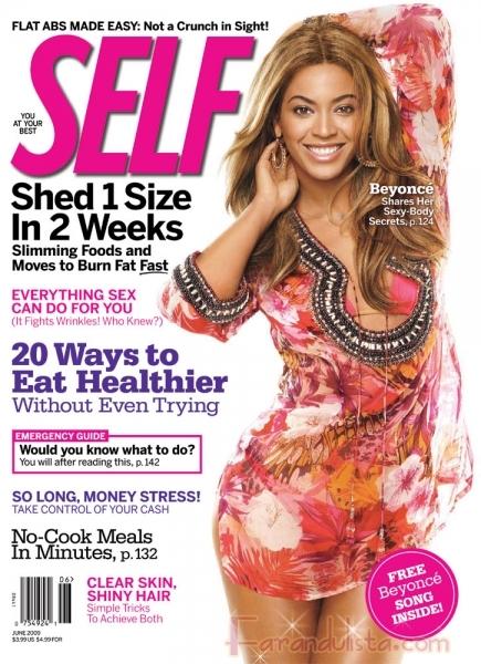 Beyonce comparte sus secretos para mantener su cuerpo - Self
