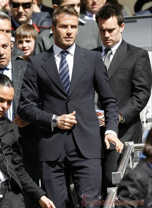 David Beckham niega rumores de infidelidad