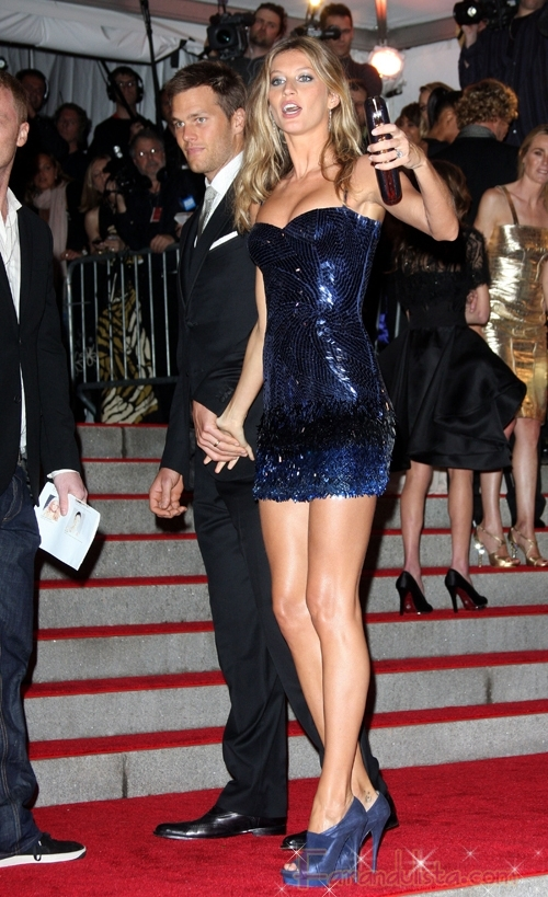 Gisele Bundchen no esta embarazada, dice su esposo, of course