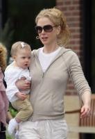Awwww... Nicole Kidman y Keith Urban pasean a Sunday Rose!