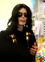 Michael Jackson y sus hijos en Beverly Hills