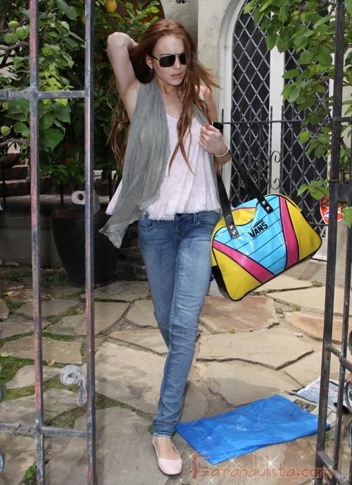 Lindsay Lohan y Sam Ronson... juntas, separadas?