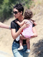 Halle Berry y su hermosa familia en Topanga Canyon