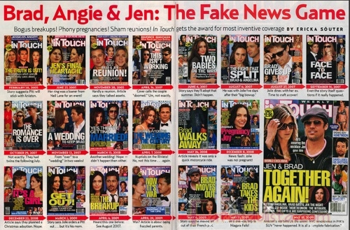 Los titulares del fin de semana... Gossip Links!
