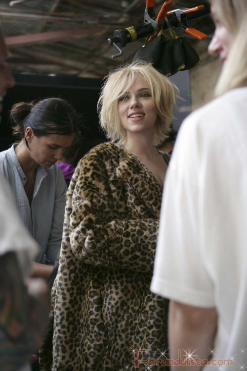 Scarlett Johansson para Mango Otoño/Invierno 2009-2010