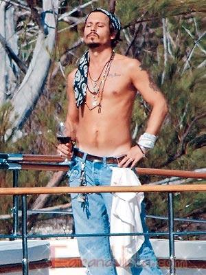 Johnny Depp quiere ser un viejo panzón